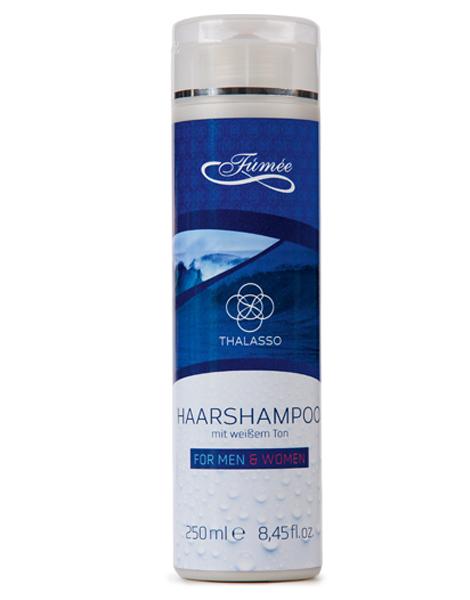 Haarshampoo mit weißem Ton fúmée